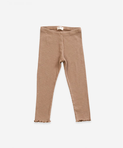 Play Up - Leggings camel Biobaumwolle - AURYN Shop