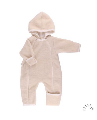 Popolini - Baby Overall Wollvlies natur - AURYN Shop