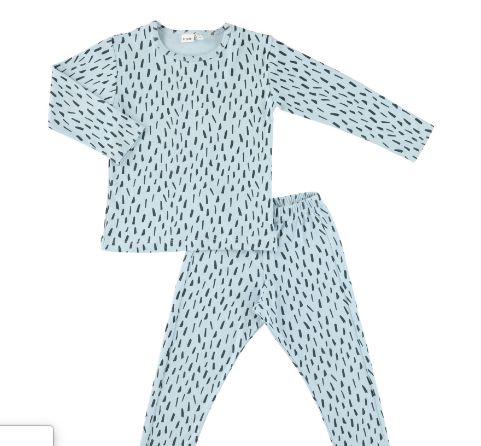 Trixie - Pyjama blue meadow - AURYN Shop