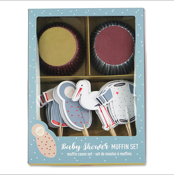 Ava & Yves - Cupcake-Set Babyshower - AURYN Shop