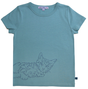 Enfant Terrible - Shirt Katze jade - AURYN Shop