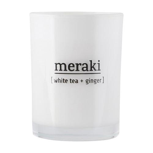 Meraki - Duftkerze White Tea + Ginger - AURYN Shop