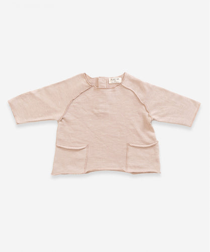 Play up - Fleece Flamé Sweater rosa - AURYN Shop