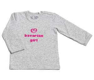 Auryn - Shirt grau Bavarian girl pink - AURYN Shop