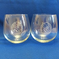 Stemless Wine glass (single or pair)