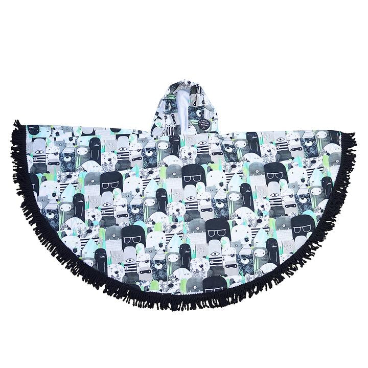 Bears and Beasties Hooded Towel