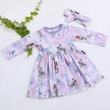 Unicorn Dress - Aster and Oak