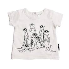 Load image into Gallery viewer, Meerkat Family Tee - Aster and Oak