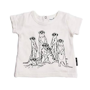 Meerkat Family Tee - Aster and Oak
