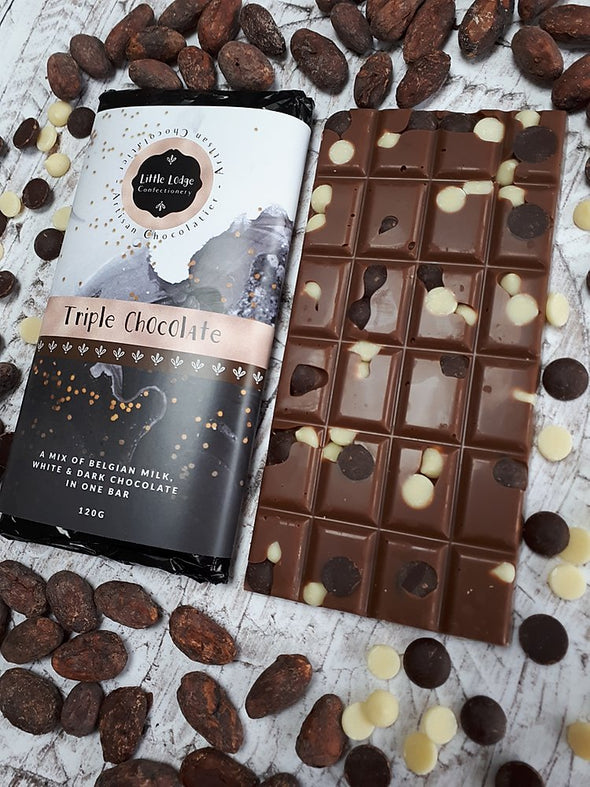 TRIPLE CHOCOLATE BAR-[best_gifts_for_women]-[gifts_for_her]-Seventeen Minutes