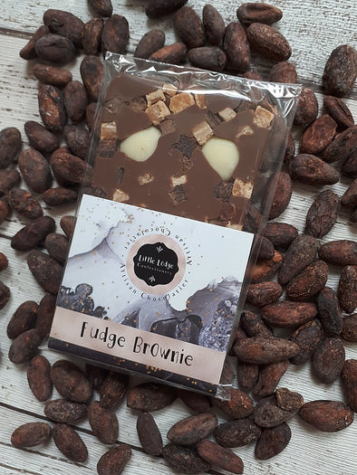 FUDGE BROWNIE CHOCOLATE SLAB - Seventeen Minutes - self-care subscription box for mums