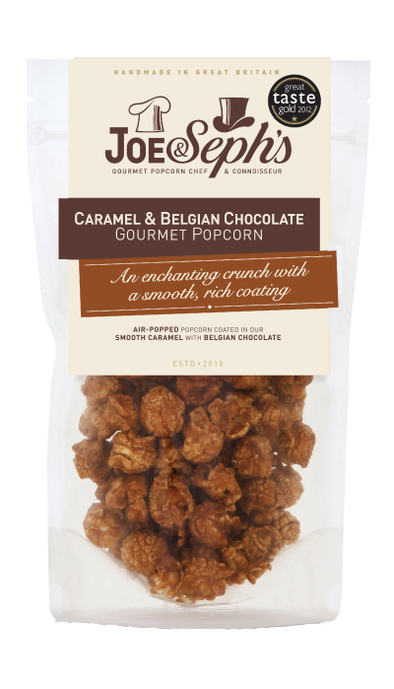 CARAMEL & BELGIAN CHOCOLATE GOURMET POPCORN-[best_gifts_for_women]-[gifts_for_her]-Seventeen Minutes