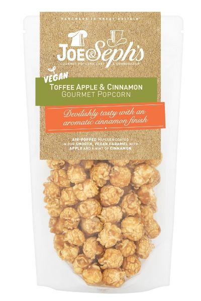 Seventeen-Minutes-Thoughtful-Gifts-For-Mums-Joe-&-Seph's-Vegan-Toffee-Apple-&-Cinnamon-Gourmet-Popcorn