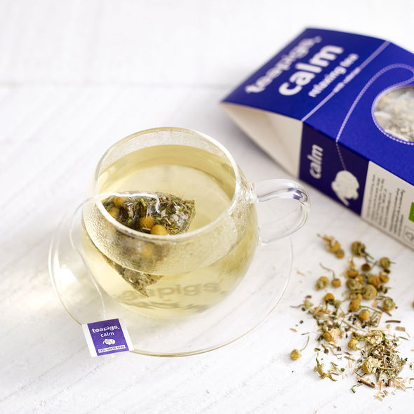 TEAPIGS CALM RELAXING TEA - Seventeen Minutes - self-care subscription box for mums