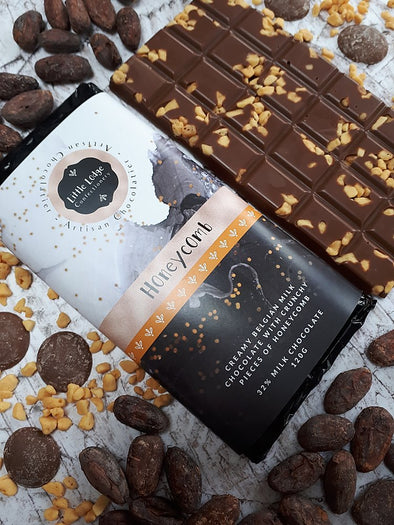 HONEYCOMB CHOCOLATE BAR - Seventeen Minutes - self-care subscription box for mums
