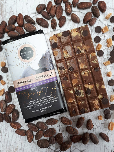 MILLIONAIRE SHORTBREAD CHOCOLATE BAR - Seventeen Minutes - self-care subscription box for mums