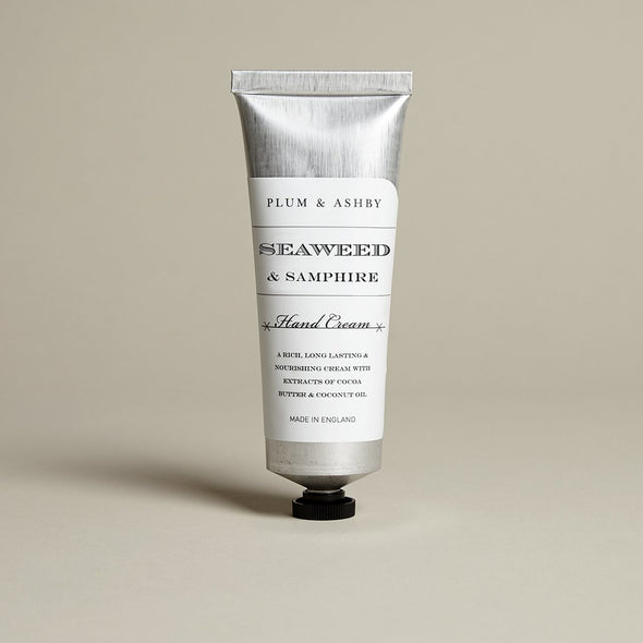 Plum & Ashby Seaweed & Samphire Hand Cream - Seventeen Minutes - self-care subscription box for mums