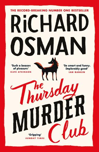 THE THURSDAY MURDER CLUB BOOK