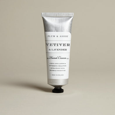 VETIVER & LAVENDER HANDCREAM - Seventeen Minutes - self-care subscription box for mums