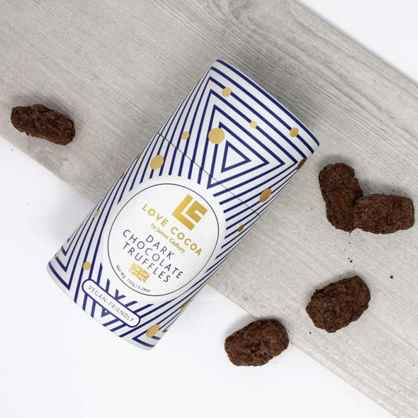 VEGAN DARK CHOCOLATE TRUFFLES - Seventeen Minutes - self-care subscription box for mums