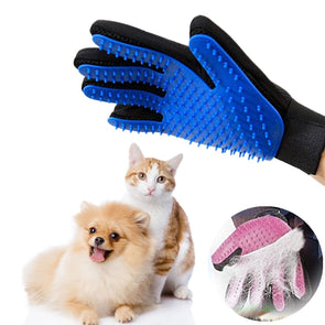 Pet Hair Brush Comb Glove For Cleaning
