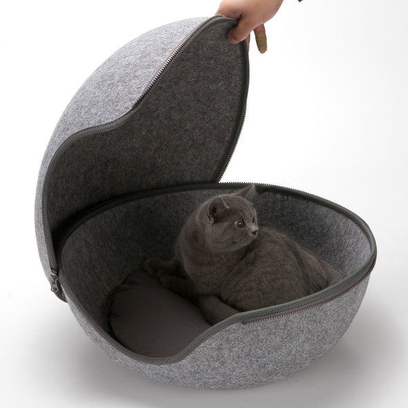 Egg-Type Pet Nest Cat House