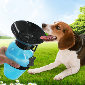 Portable Dog Cat Drinking Water Bottle