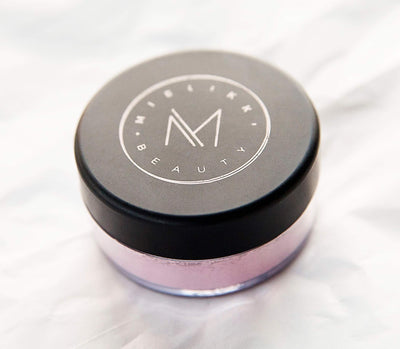 Loose blush powder