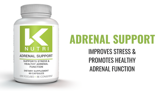 Adrenal Support – Improves Stress & Promotes Healthy Adrenal Function