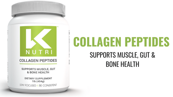 Collagen Peptides – Supports muscle, gut & bone health