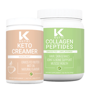 K Nutri's Coffee Bundle with Collagen Peptides and Hazelnut Keto Creamer