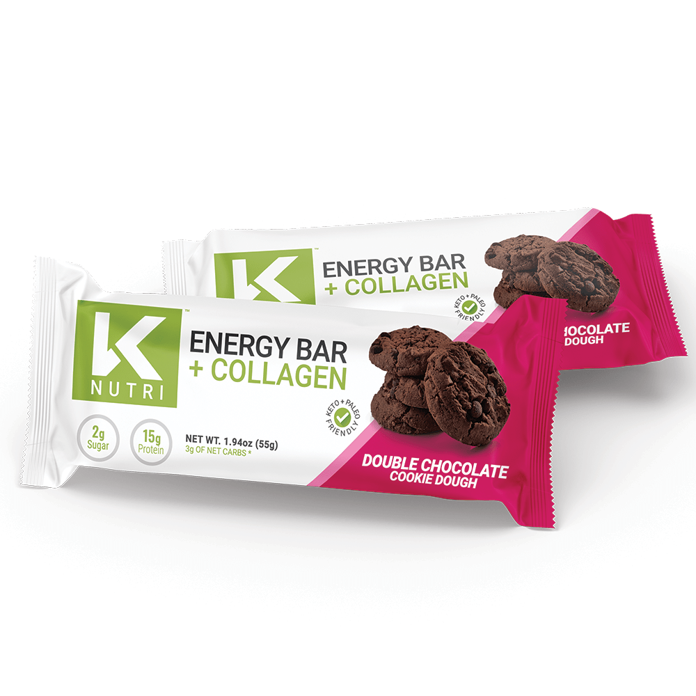 Collagen Energy Bar - 12 Bars