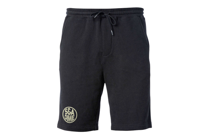 "5&A Dime ""Gumball Logo"" Embroider Shorts (Black/Off White)"