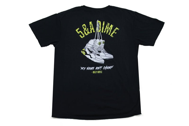 Billy Hoyle Tee (Black with Puff Print)