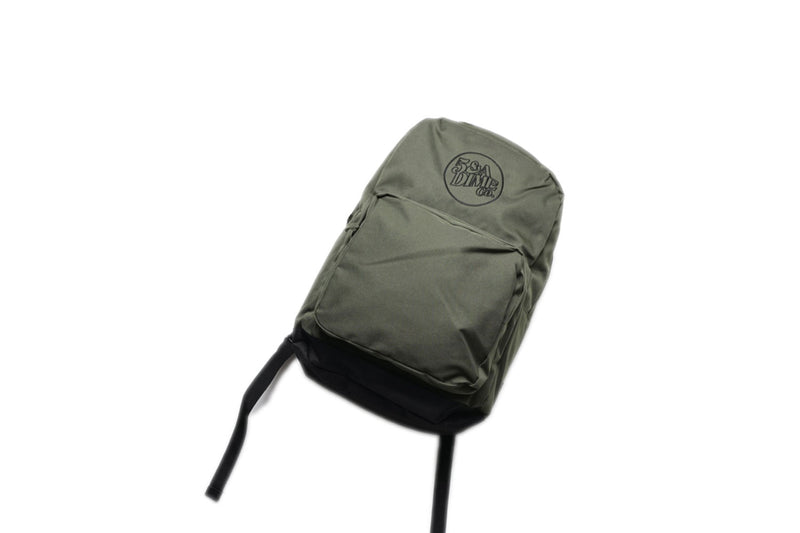 Marque Logo Back Pack (Army Green)