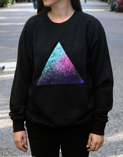 Triangle, Sweater, Clothing