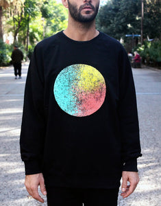 Circle, Sweater, Clothing