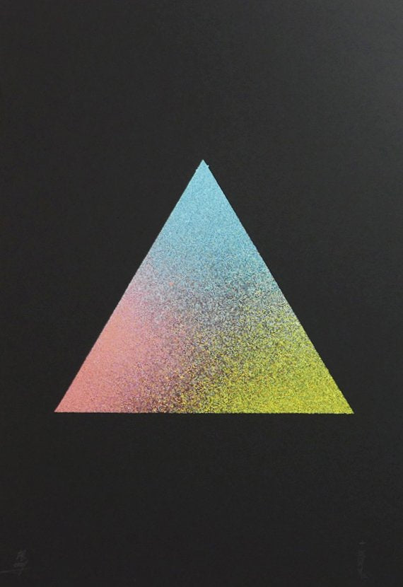 Triangle, Paper, Art