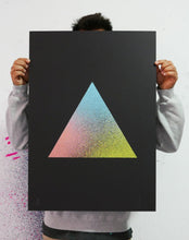 Load image into Gallery viewer, Triangle, Paper, Art