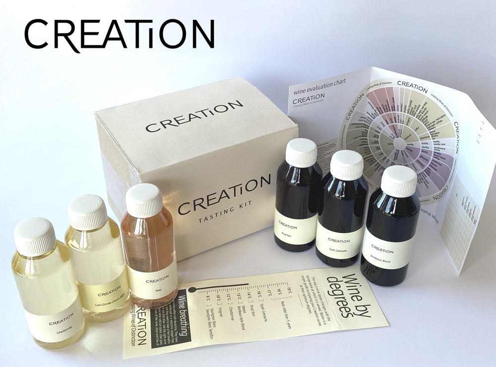 Creation Virtual Tasting Kit