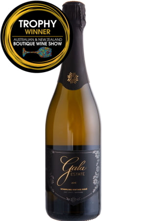 Gala Estate Black Label Sparkling Vintage Rose Chardonnay Pinot Noir 2016
