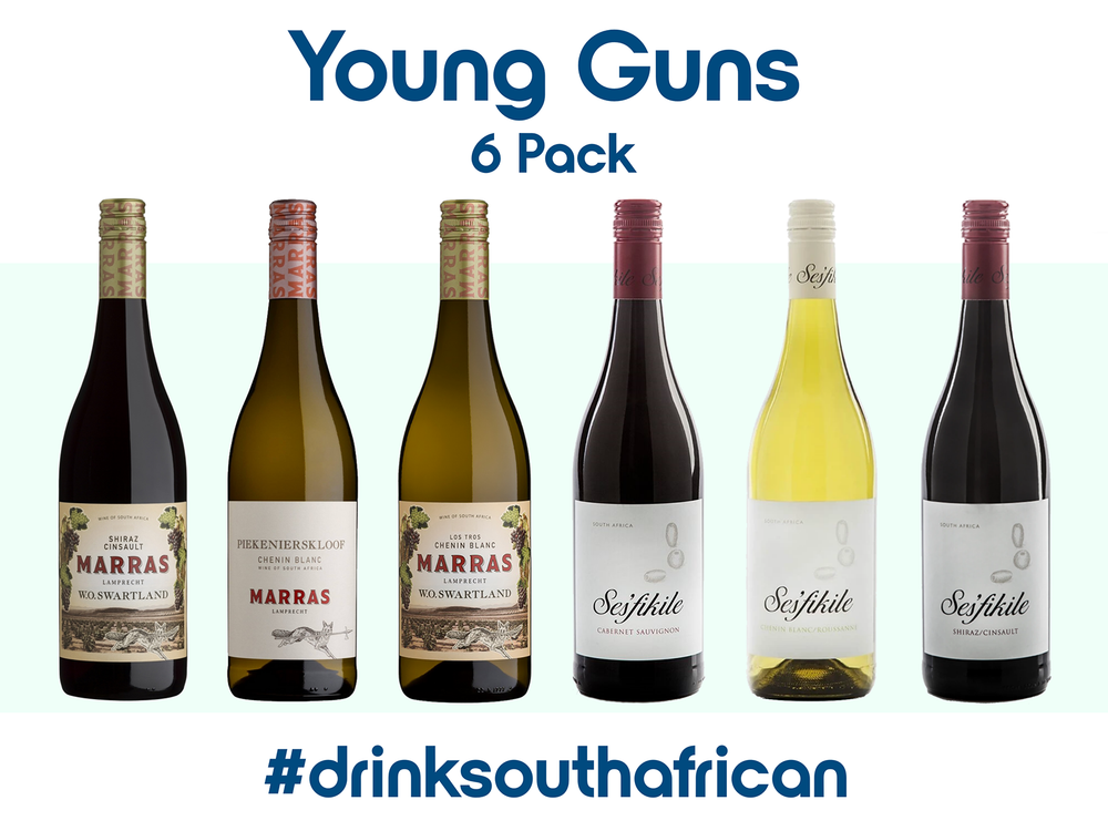 South African Young Guns 6 Pack