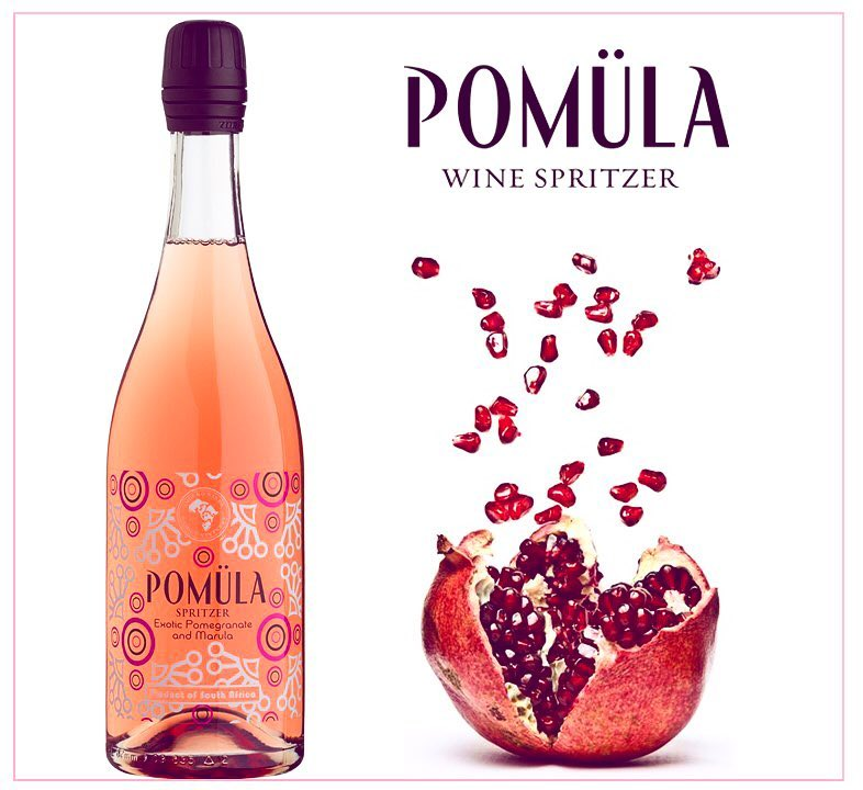 Pomula Exotic Pomegranate and Marula Spritzer NV 6 Pack