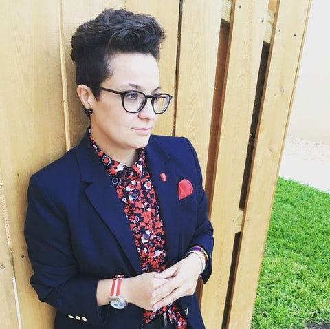 Queer-LGBTQ-Fashion-Blogger-Pocket-Tomboy-style-Interview-100-Most-Stylish-DapperQ-wearing-suit