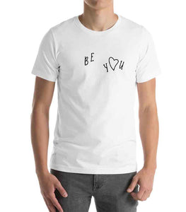 Be-You-Carefree-Heart-White-T-Shirt-Unisex