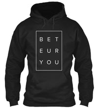 Load image into Gallery viewer, Tomboy-Style-Black-Puzzle-Hoodie-Be-You-Be-True-Gender-Neutral-Androgynous-Summer-Fashion
