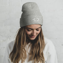 Load image into Gallery viewer, Tomboy-Girl-HLD-Logo-Embroidered-Tomboy-Beanie-Classic-Lightweight-Cuffed-Beanie-Unisex