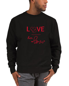 Black-Male-Model-Tomboy-Clothing-Fashion-Every-Little-Thing-Black-Sweatshirt-Unisex-Gender-Neutral-Androgynous