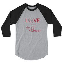 Load image into Gallery viewer, Tomboy-Clothing-Fashion-Every-Little-Thing-Grey-Raglan-Unisex-Gender-Neutral-Androgynous-Front-View