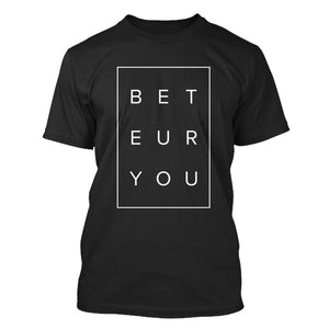 Tomboy-Style-Black-Puzzle-T-Shirt-Be-You-Be-True-Gender-Neutral-Androgynous-Summer-Fashion
